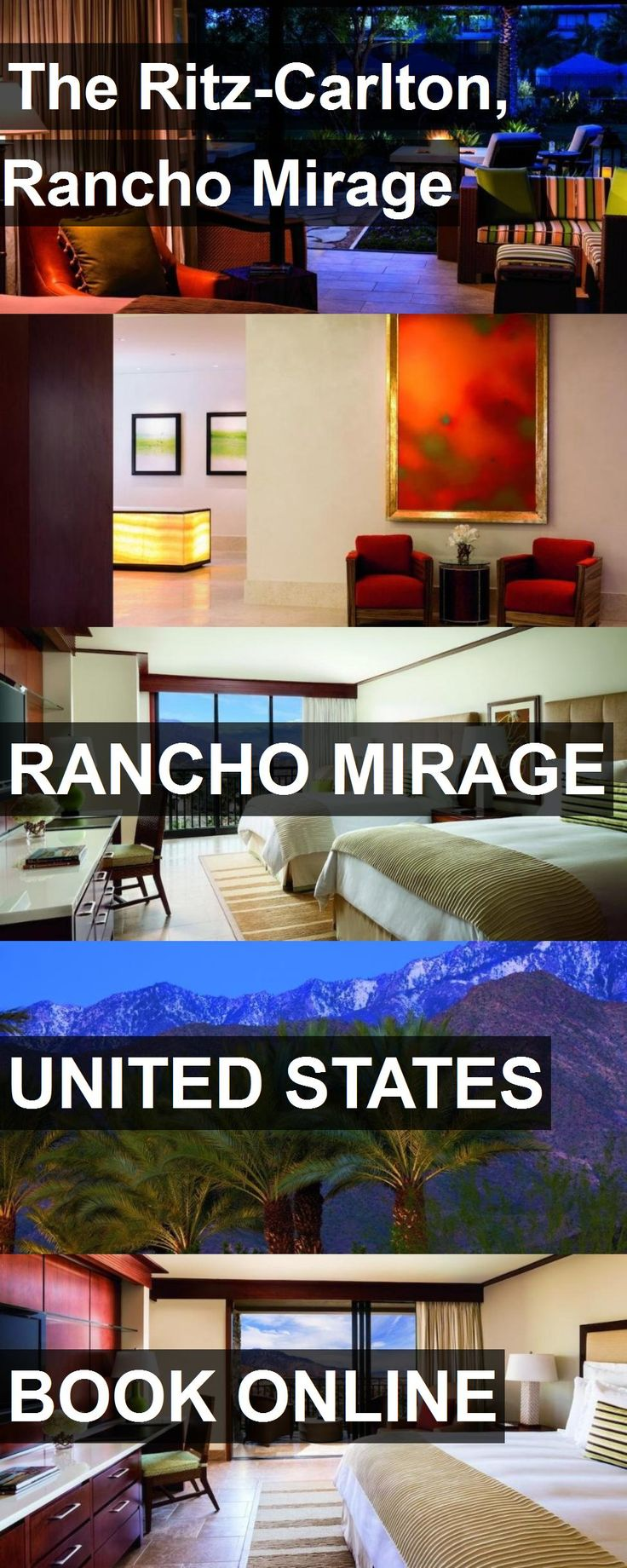 California Map Rancho Mirage%0A Hotel The RitzCarlton  Rancho Mirage in Rancho Mirage  United States  For