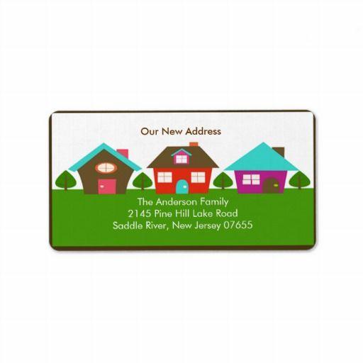 Preferred 16 best We'Ve Moved Address Labels images on Pinterest | Lyrics  ND22