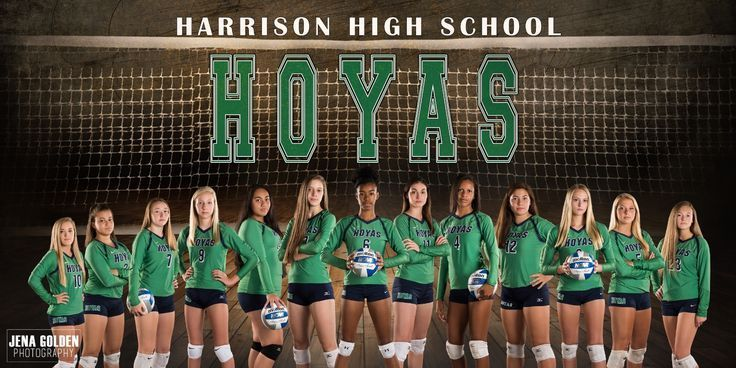 Harrison High School Volleyball Banners Jena Golden Photography Harrison High School High School Sport Banner