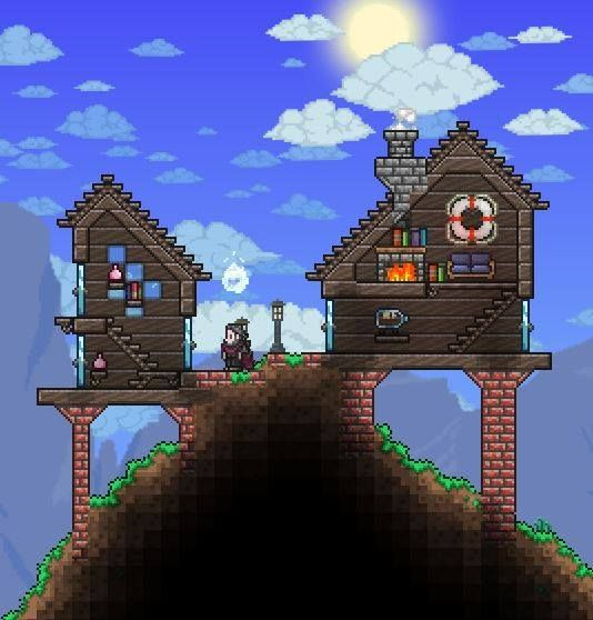 Pc Ballin Houses By Eiv: 130 Best Images About Terraria On Pinterest