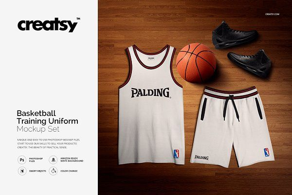Download Basketball Training Uniform Mockup Psd Mockup Free Mockups Psd Basketball Training Basketball Workouts Basketball
