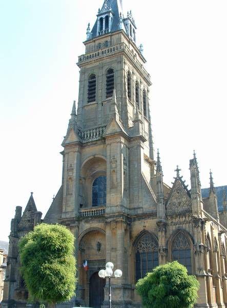 basilique Notre-Dame-d'Espérance- Charleville-Mézières, Ardennes #tourisme #campingcar