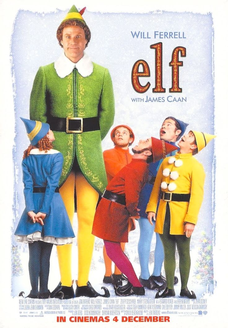 Image result for elf will ferrell poster