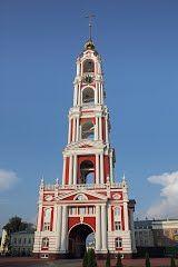 Колокольня монастыря. Тамбов