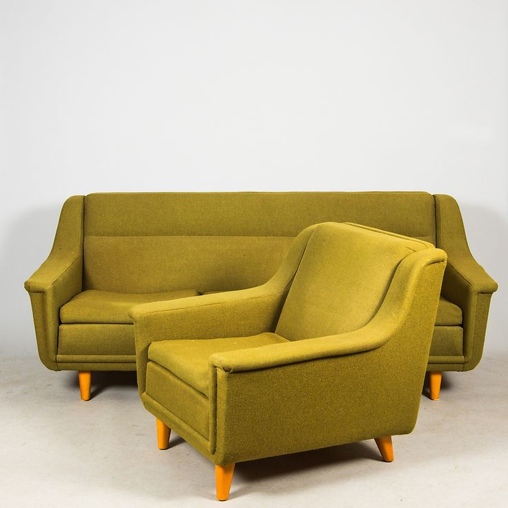 https://auctionet.com/sv/771022-soffa-samt-fatolj-dux-bra-bohag-1950-1960-tal/images  50's-60's sofa and armchair