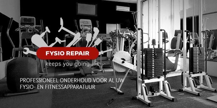 Fysio-Repair professioneel onderhoud voor al uw fysio- en fitnessapparatuur.