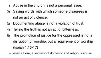 Injustice in the Church is More Detestable than Injustice in the World. Good article.