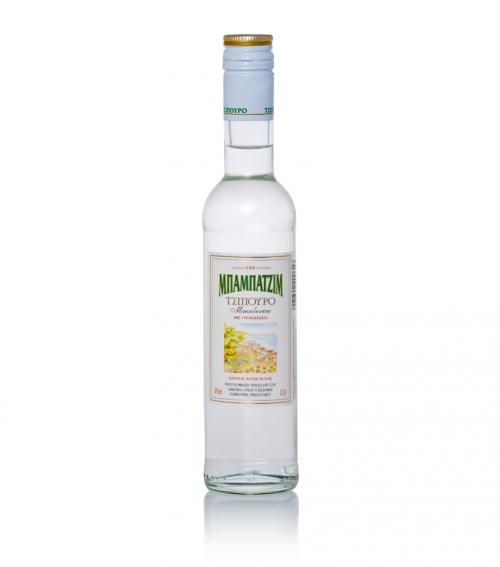 """""""Babatzim"""" tsipouro with aniseed from Macedonia 200ml available at just 7.50€"""