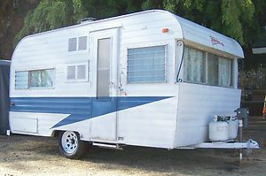 Vintage fireball trailers | VINTAGE TRAVEL TRAILER 1962 FIREBALL 16FT W/ BATHROOM in RVs & Campers ...