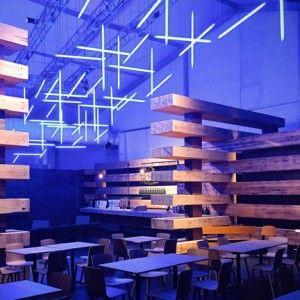 Olson Kundig Architects based Design Miami  lounge on historic lumber yards