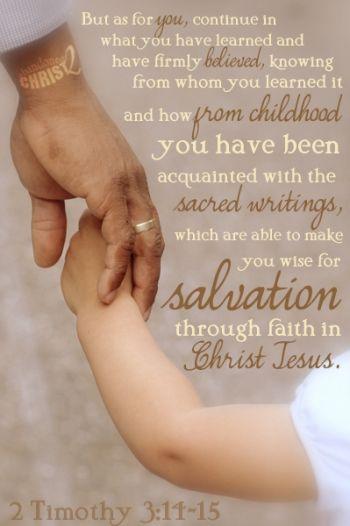 Christian Parenting Goals 101