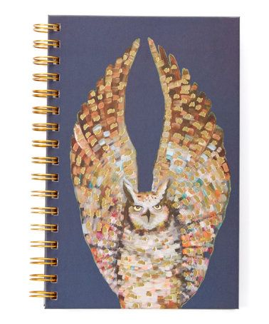 Look what I found on #zulily! Majestic Owl Spiral Notebook #zulilyfinds