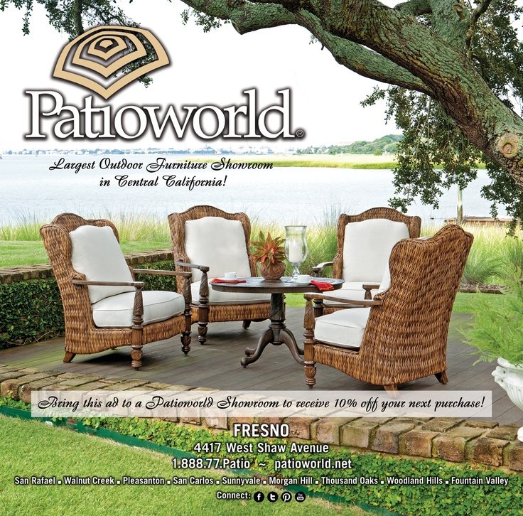 Providing California With Luxury Outdoor Patio Furniture For Over 35 Years.  Visit One Of Our 10 Showrooms To Discover California Outdoor Living At Its  Best.