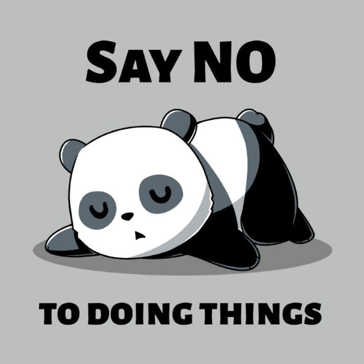 Say No To Doing Things