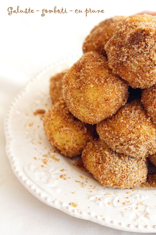 Galuste cu prune, numite uneorigomboti Galustele cu prune sunt un desert tipic pentru bucataria austroungara, facute dinaluat usor sarat contrastand cu o umplutura de fructe si garnitura de pesmet rumenit...