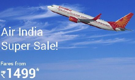After Indigo, SpiceJet and AirAsia India, Air India has announced low air fare from July to September. The super sale scheme launched by government owned Air India starts at as low as Rs 1,499 (all inclusive).