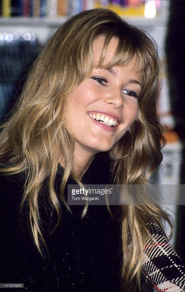 Claudia Schiffer Calender Signing - October 8, 1993 ...