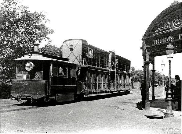 Steam tramway to Botany built by Thos. Wearne of Sydney   .....ADB bio here: http://adb.anu.edu.au/biography/wearne-thomas-4953/text8037