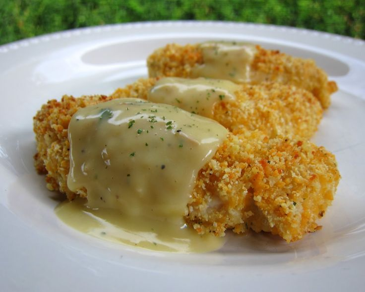 Crispy Cheddar Chicken Tenders | Nutrition Byte