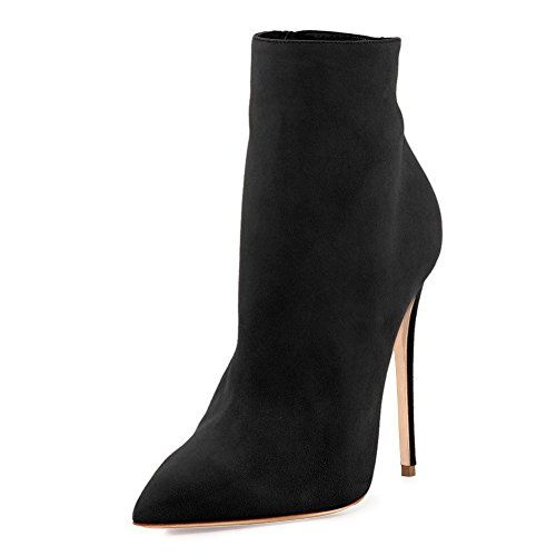 949cc778ca1 New VOCOSI Women s Ankle Boots Closed Pointed Toe Stilettos Autumn Dress  Booties. Winter Boots   49.99 - 54.99 allfashiondress