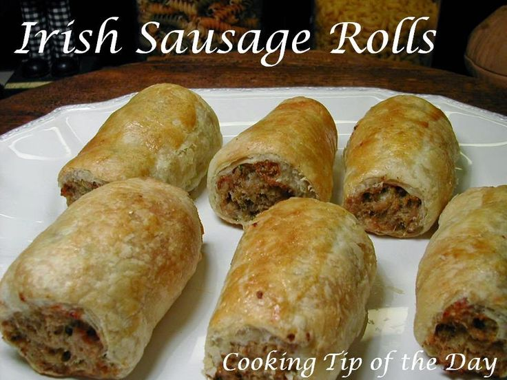 Cooking Tip of the Day: Irish Sausage Rolls
