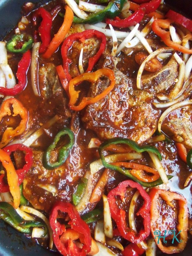 Chuletas en Salsa Ranchera |Hispanic Kitchen September 2015