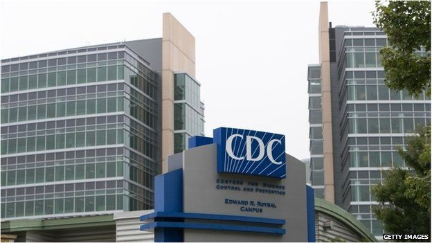 Centers for Disease Control and Prevention campus in Atlanta, Georgia. US lab worker monitored for Ebola. A US laboratory technician is being monitored after possible exposure to the Ebola virus, the Centers for Disease Control and Prevention says. It said the technician was working at the CDC in Atlanta when an Ebola sample was mistakenly moved from one laboratory to another. The employee will be monitored for 21 days. A CDC spokeswoman said there was no risk to the public.