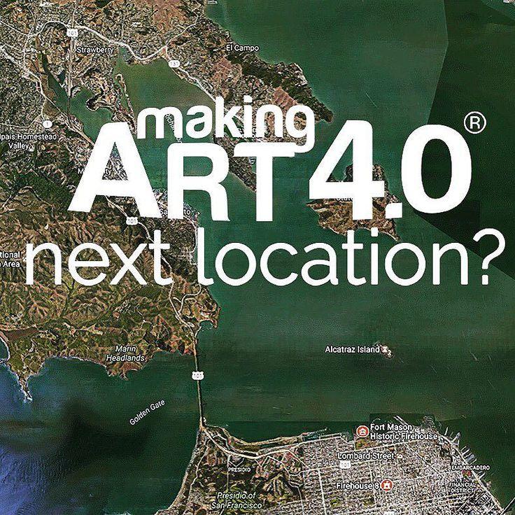 Art 4.0 is going west next year #usa #canada #kunst #artist #painting #painter #sculpture #3dprinting #artcall #art #technology #scanandmake #design #artcontest #streetart #graffiti #stencilart #3dprint #3d #maker #fablab #impresion3d #kunst #artshow #artgallery #goingwest #california #arte #artista #tecnologia