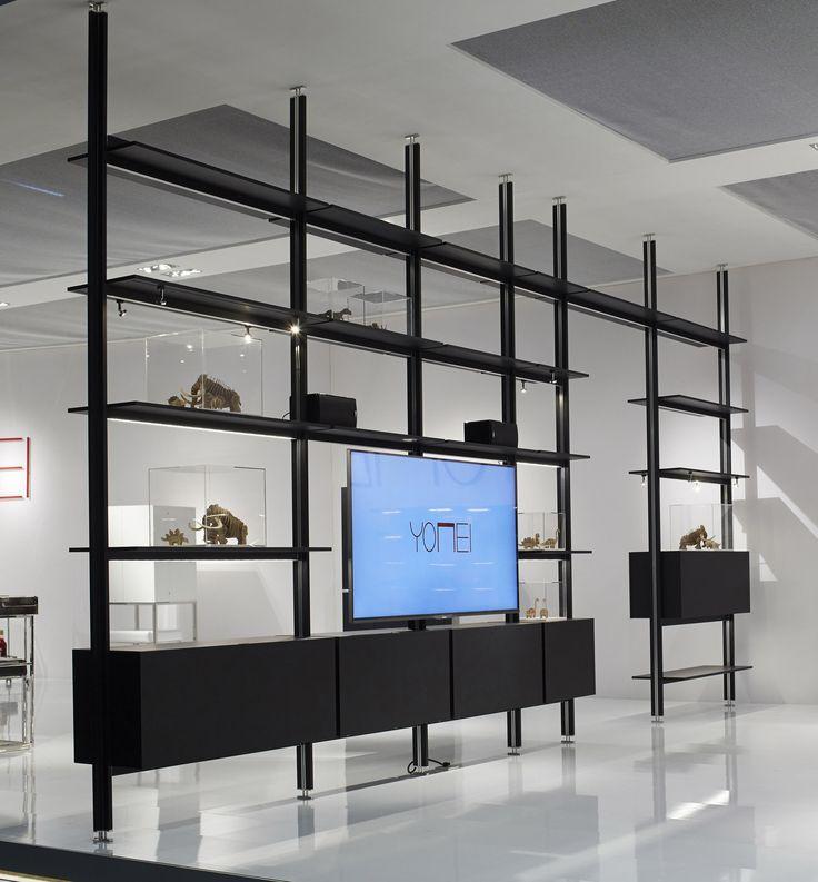 Magic Matrix A Premium Class Shelving System This New Shelving System Has It Al Tv Room Al Clas Design Scaffali Arredamento D Interni Arredamento