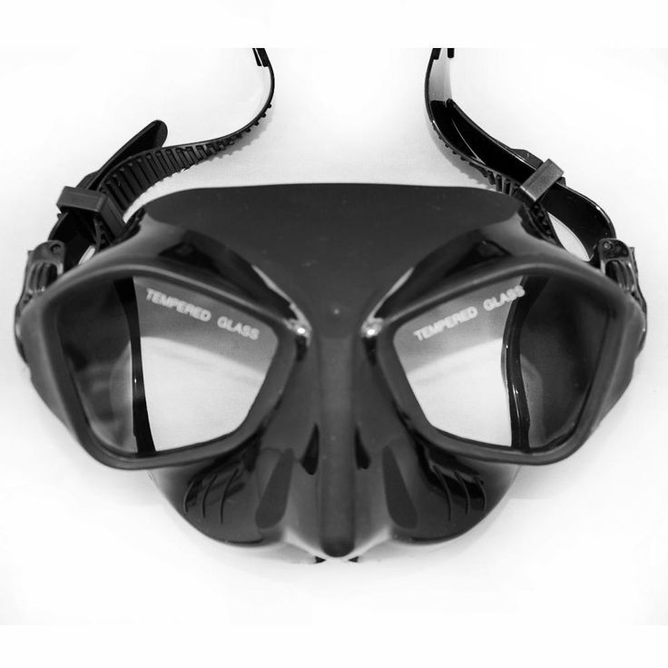 Extreme Low Volume Spearfishing Diving Mask Black Silicone Skirt Strap Tempered Lens Freediving Mask T Spearfishing Gears
