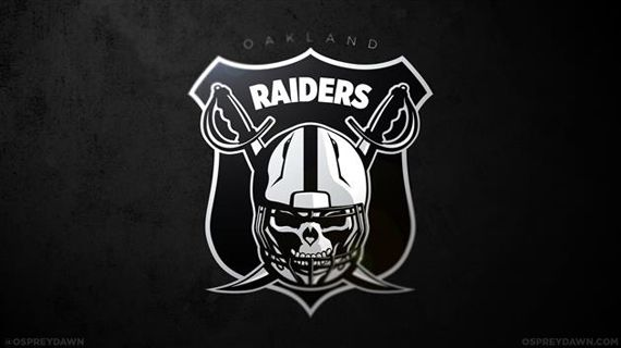 All 32 NFL Team Logos Redesigned | By Max OBrien 'Oakland Raiders'