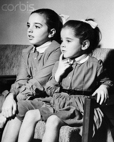 Lize Minelli mit ihrer Schwester Lorna Luft