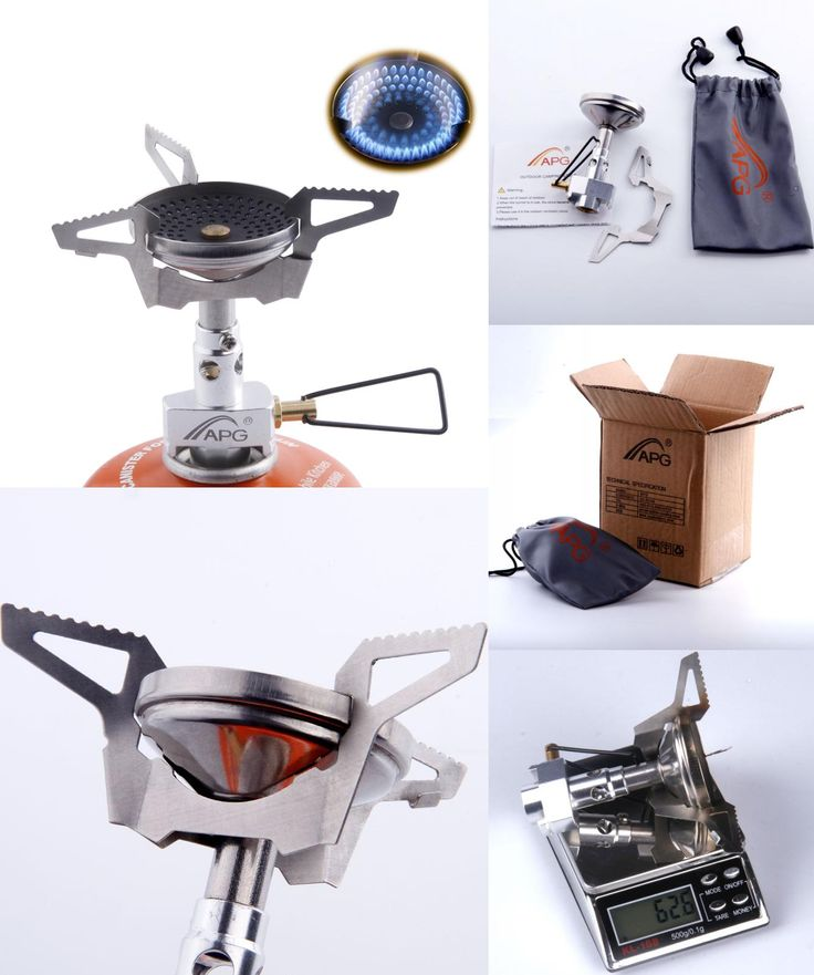 [Visit to Buy] Outdoor Anti-scald Furnace Burners Portable Gas Stoves Best Mini Folding Portable Camping Cooking Equipment 70g #Advertisement
