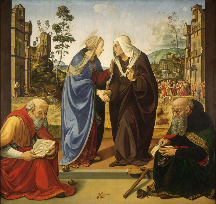 Resultado de imagen de Nacimiento de San Juan Bautista, anónimo, 1330 — National Gallery of Art, Washington