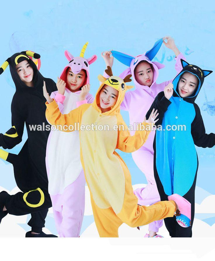 Walson clothing espeon umbreon black purple Cheap Wholesale Women Onesie Pajama