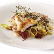Kabeljauw, prei en rauwe ham | Diner | Power Slim Nederland
