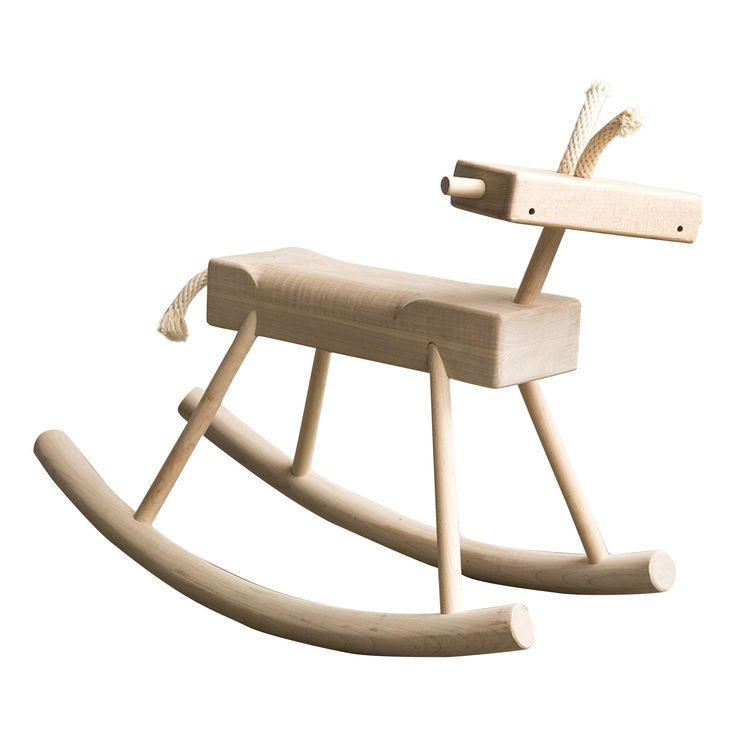 Buy Robot Monkey Rocking Horse by DSHOP - Made-to-Order designer Furniture from Dering Hall's collection of Contemporary Rustic / Folk Organic Toys & Accessories.