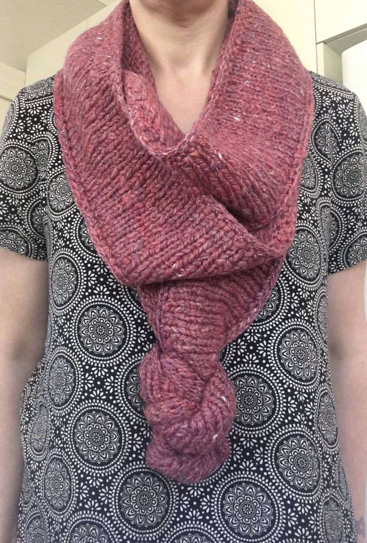 A personal favourite from my Etsy shop https://www.etsy.com/au/listing/583198841/knotted-infinity-scarf