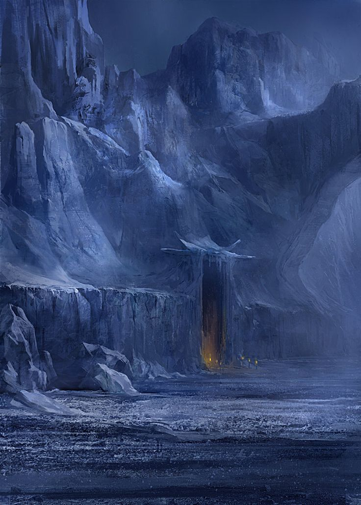 Snowy lair by ~gerezon