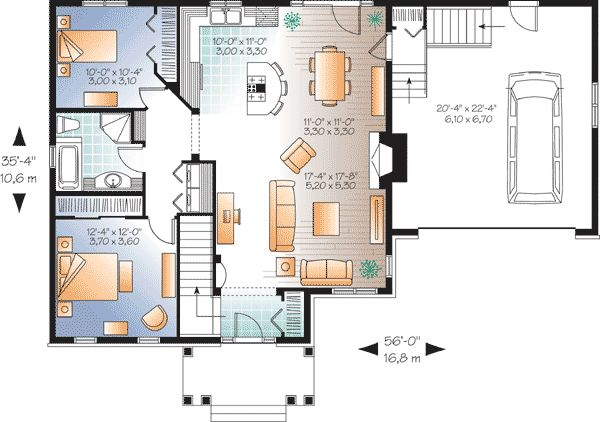 325 best floor plans downsizing images on pinterest for Reproduction house plans