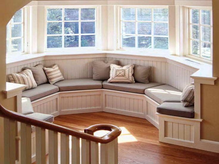window seats with storage - Google Search