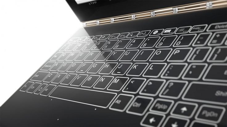 LENOVO YOGA BOOK: 2-IN-1-TABLET MIT TOUCHSCREEN-KEYBOARD UND DUAL-STYLUS
