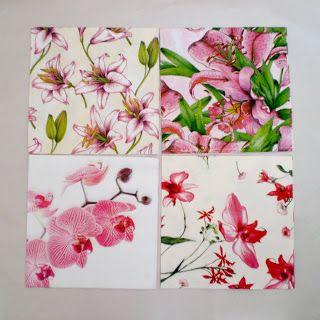 Decoromana: Paper napkins for decoupage (also known as a napkin decoupage, napkin technique, napkin art), scrapbook, collage.