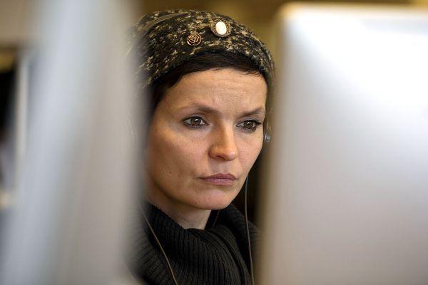 Anaïs Barbeau-Lavalette a écrit «La femme qui fuit».
