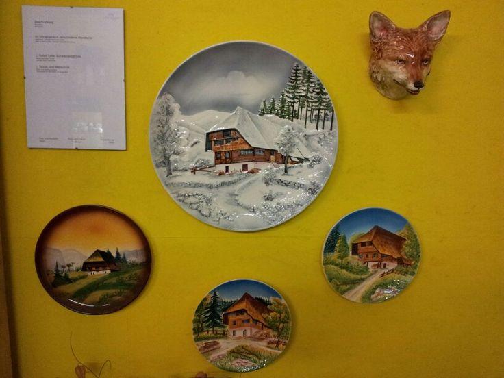 Zeller Keramik museum wandborden