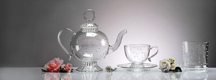 Handmade Glassware - www.gabrielaseres.ro