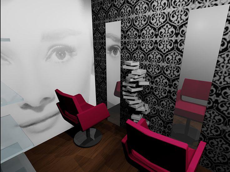 Segunda infografía del proyecto Centro de estética