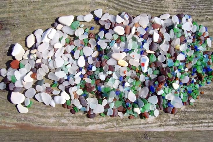 sea glass | Sea glass catch North Beach Port Townsend Washington