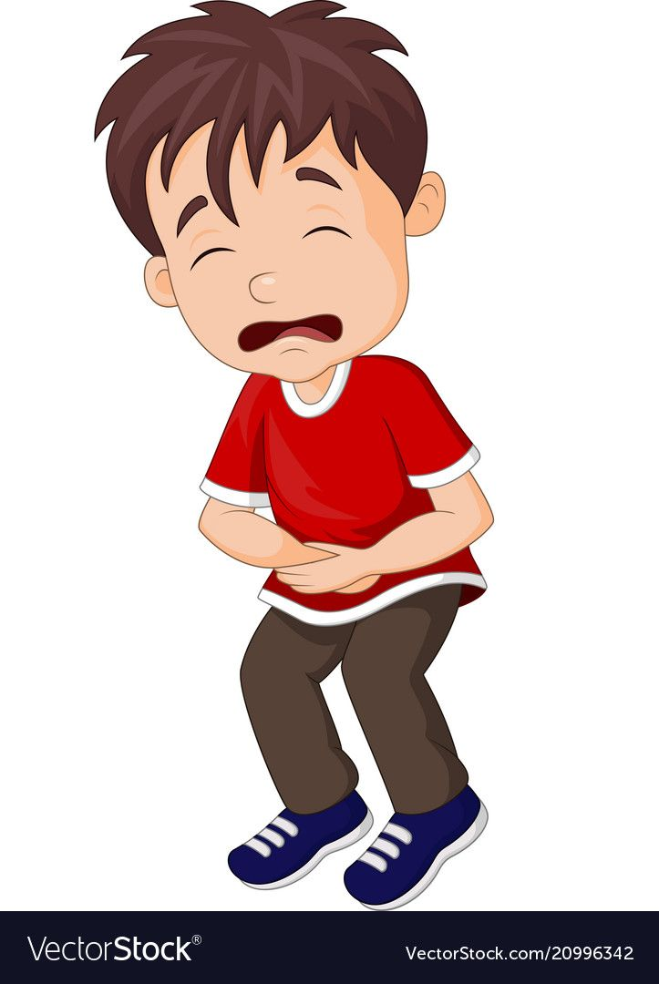 young boy suffering from stomach ache vector image on vectorstock kids clipart stomach ache kids canvas young boy suffering from stomach ache