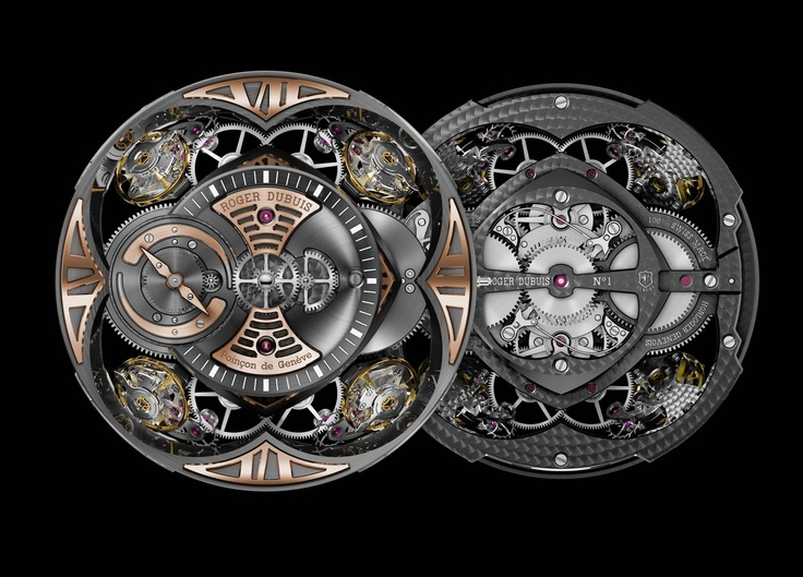 RD101 - Our brand new in-house movement is the heart of the Excalibur Quatuor.